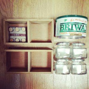 木箱収納の100均DIYで使う材料