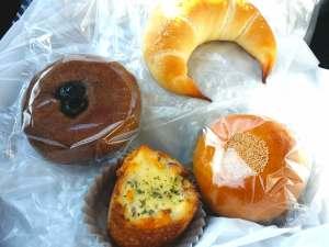 パン屋ベーカリーベイクのパンの種類