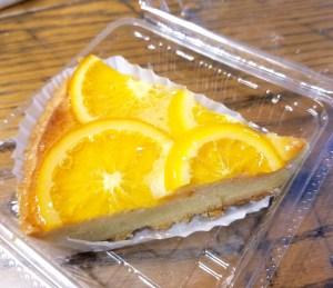 小さなパン小屋一休のオレンジのタルト