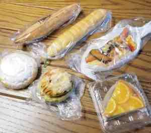 パン屋「小さなパン小屋一休」のパン6種類