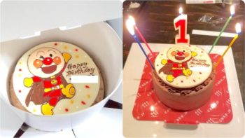 「cake.jp」のアンパンマンケーキ